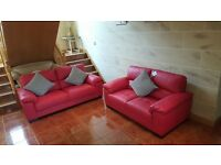 Leather Luxurious Sofa Suite Couch Corner Brand New Interior Designer Massive Sale Go On Call Me Now