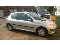 2005 Peugeot 206 1.1 Petrol For Sale