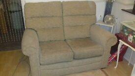 2 seater fabric sofa, perfect condtion