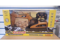 TOP RACE RC EXCAVATOR TRACTOR TR-211 - BRAND NEW WITH RECEIPT