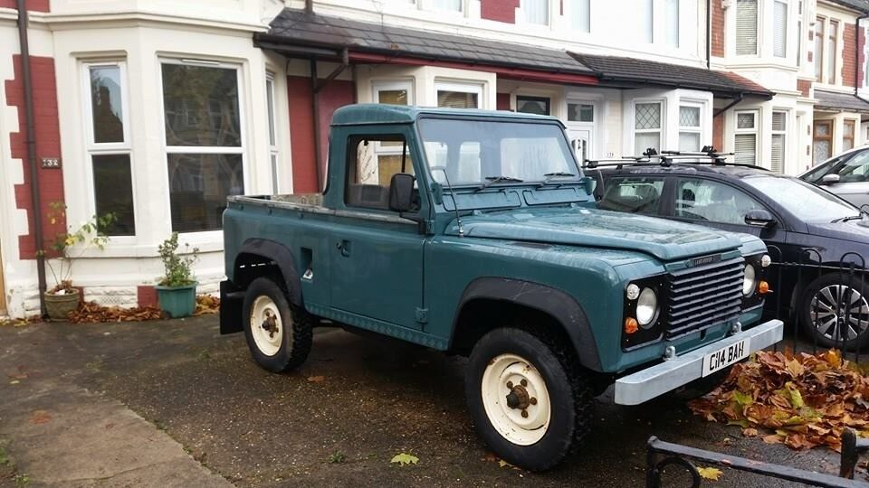 Landrover Defender 90 SWB pick up 1985 - Restored in 2014 | in Roath,  Cardiff | Gumtree