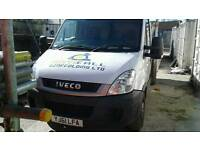 Iveco daily pickup scaffolding truck