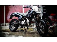 yamaha dt 125 super moto enduro