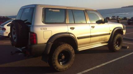 2000 Gu Nissan Patrol 35's 3inch lift turbo diesel gas injection Newcastle 2300 Newcastle Area Preview