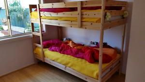 Ikea single bunk bed Glenmore Park Penrith Area Preview