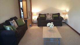 Beautiful 2 bedroom flat with private garden, 1 minute walk from Aberdeen University