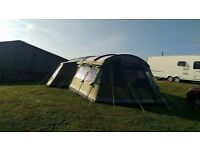 Outwell montana 6P front awning, tree green used once and packed and stored in dry place
