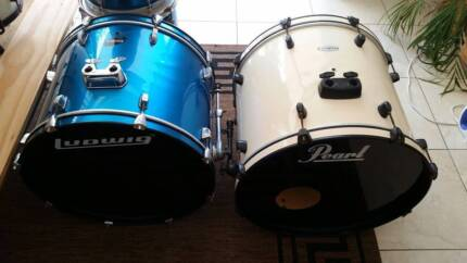 Ludwig Accent CS Combo Drum Kit (Blue)
