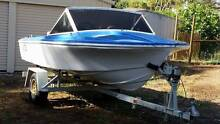 14ft Fibreglass runabout Stoneville Mundaring Area Preview