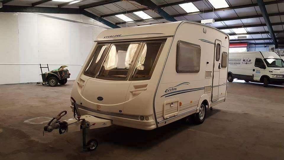 Sterling Eccles Jade 2 berth 2002 caravan
