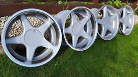 17's wheels BROCK Type B1 17s 4X100 J8.5 and J10 ET35/ET20 BMW,WV,MINI,VAUXHALL
