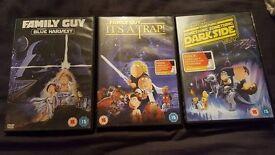 family guy dvds starwars for sale