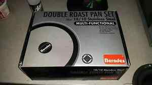 New professional double roast pan set Stanhope Gardens Blacktown Area Preview