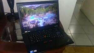 Gaming Laptop 8 gb Ram 500gb HDD Storage Lenovo ThinkPad T520 Intel i7 Quad Core 15.6 inch Nvidia 1 gig Graphics $250