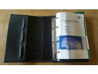 Genuine VW golf MK5 handbook owners manual wallet 2003-2008