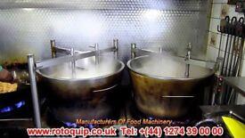 Rotoquip Commercial Halwa/Halva Maker Halwa Making Machine Natural Gas Or LPG 180 LTRs Capacity
