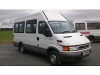 IVECO DAILY 2.8 DIESEL 'ONLY 48,000 MILES'..long mot..