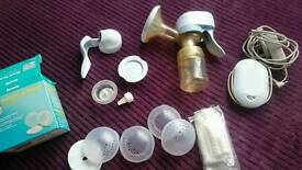 Avent electric and manual breast pump and nipple cover