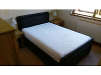Electric Adjustable Double Bed with Memory Matrix Foam Mattress