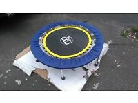 fitness trampoline very good condition - free delivery
