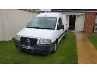 Citroen dispatch, 1.9 diesel, 135k miles, 2005 year, mot till november 2017, £675 ono
