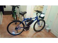 TWIST & GO Electric Bike, Lithium E bike, Comfortable ebike with keys & fob