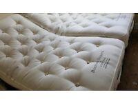 BRAND NEW EX DISPLAY ViSpring Honiton Superb Superking mattress 180x200cm (ZIP N LINK)