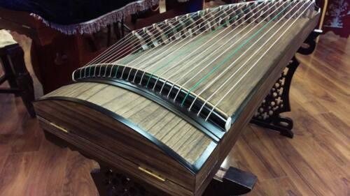 "Professional 51"" Travel-size Paulownia Guzheng, Chinese Zither Instrument, Koto"