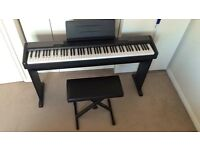 CASIO CPD-100 FULL SIZED ELECTRIC PIANO WITH WEIGHTED KEYS