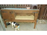 rabbit hutch , hut