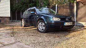 VW Golf Mk4 Match 1.6l Petrol