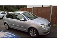 2009 vw polo 1.2 match. Low miles one owner