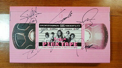 f(x) autographed Pink Tape PROMO CD signed 2nd Album