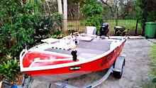 Quintrex Explorer Fishing Boat Tinnie Tinny Keperra Brisbane North West Preview