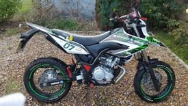 Yamaha WR125X (2000miles) For Sale