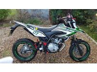 Yamaha WR125X (2000miles) For Sale
