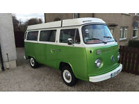 Rare opportunity to own a fully refurbished VW T2 Westfalia Helsinki LHD 1979 campervan