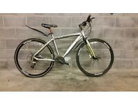 FULLY SERVICED HYBRID SCOTT MUC OFF WITH HYDRAULIC BRAKES BICYCLE