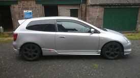 Honda Civic Type R EP3, Service History, 119000miles, 2002, £2100 OFFERS