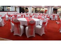 Chair covers, sashes DIY hire from £1 per chair