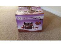 BOXED CHOCOLATE FONDUE SET