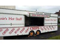 Fantastic Large Catering Trailer, Chip Van, Burger Van.