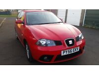 seat ibiza 1.2 1 former owner jan 2007 56 reg excellent condition all handbooks great spec car