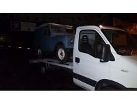 2011 iveco daily recovery truck