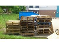 Free Wooden Pallets - Available Now