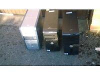 job lot desk tops for parts only or refurbishement etc.........