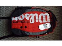 Wilson Tennis Bag Backpack Rucksack