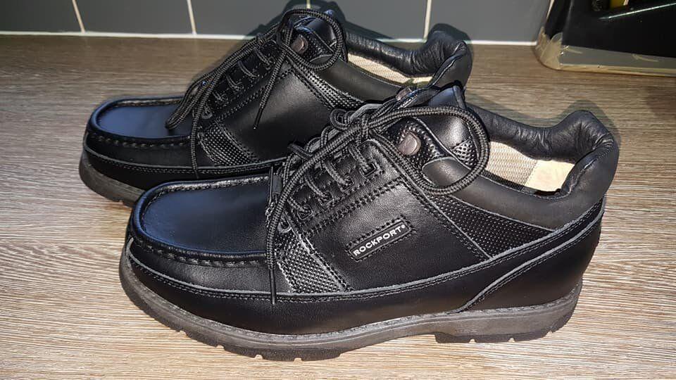 Rockport Xcs Hydro Shield Waterproof Boots Size Uk 10 Eu 44 New