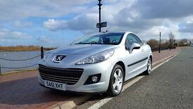 Peugeot 207 CC 2011 61 plate 37k hpi clear 11 months mot