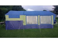 sunncamp 350xs trailer tent, pull off kitchen etc,good used item